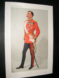Vanity Fair Print 1908 Sir Arthur Henry Paget